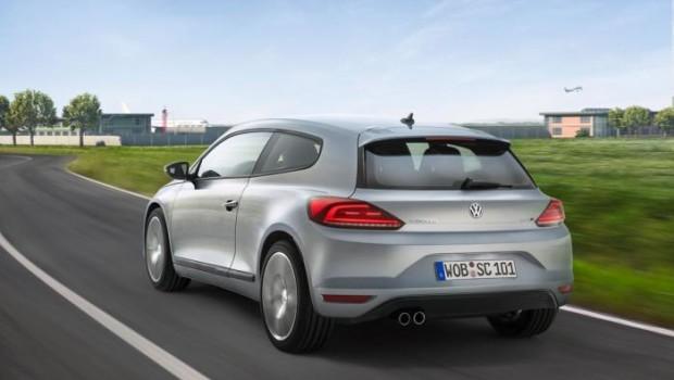 VW Scirocco 2014 Exhaust