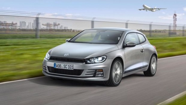 VW Scirocco 2014 Front