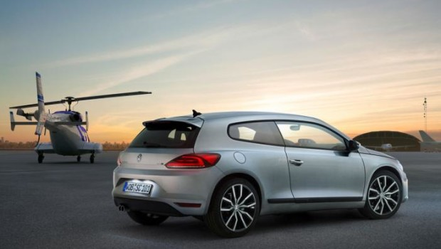 VW Scirocco 2014 Rear