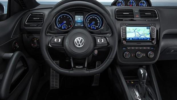 VW Scirocco 2014 Steering Wheel