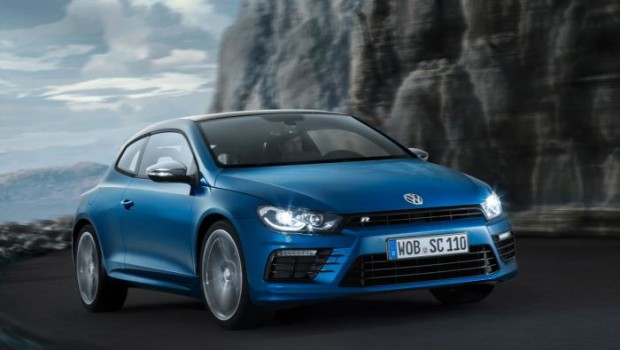 VW Scirocco R 2014 Driving