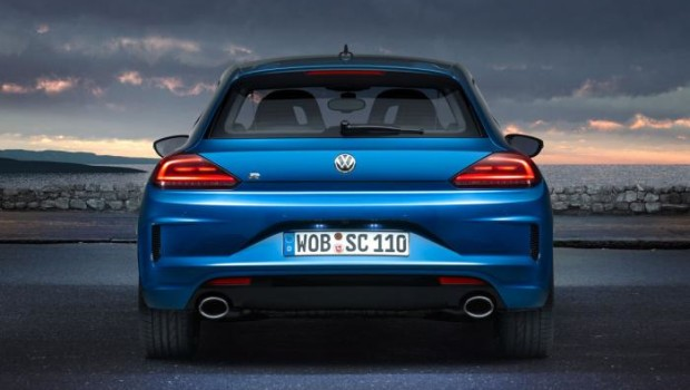 VW Scirocco R 2014 Exhaust