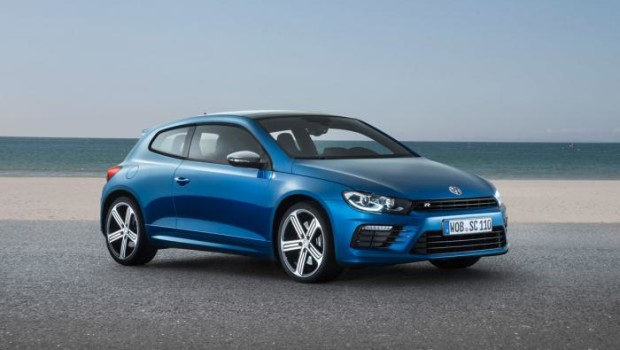 VW Scirocco R 2014 Front