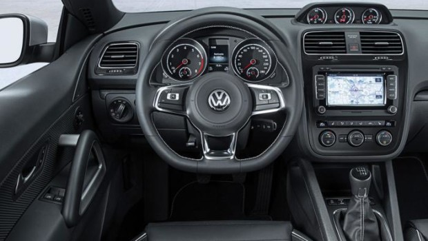 VW Scirocco R 2014 Steering Wheel
