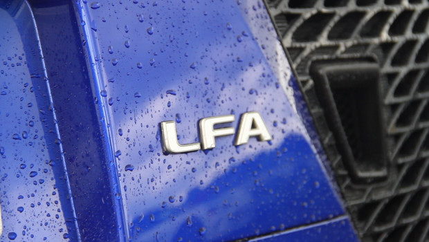 Lexus LFA Badge newmotoring YouTube