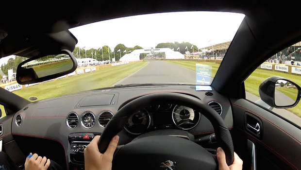 Peugeot RCZ R Goodwood POV