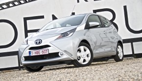 Toyota Aygo 2014 Front