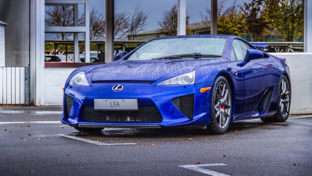 Lexus LFA Goodwood Breakfast Club
