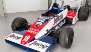 Toleman TG183B Ayrton Senna
