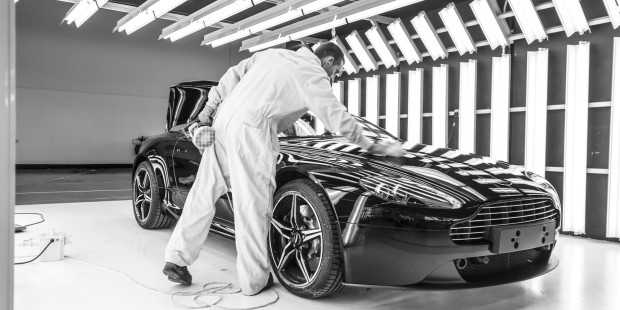 Newmotoring aston martin paint inspection newmotoring for Painting coating inspector jobs