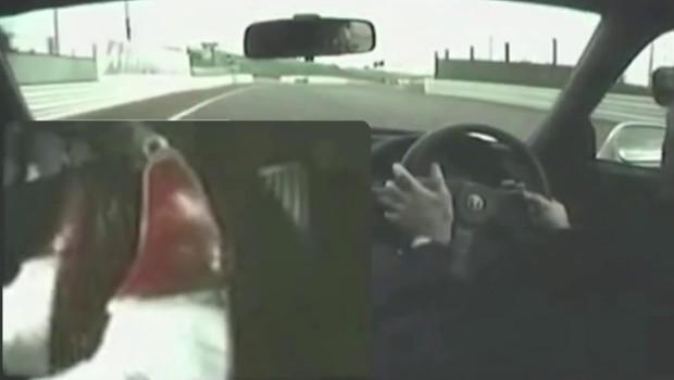 Ayrton Senna Honda NSX Video