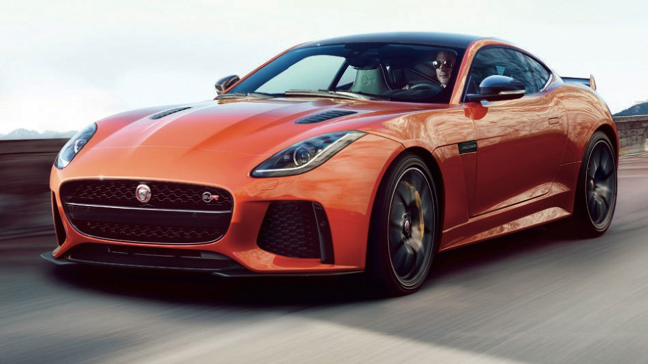 newmotoring your first look at jaguar 39 s 200mph f type svr. Black Bedroom Furniture Sets. Home Design Ideas
