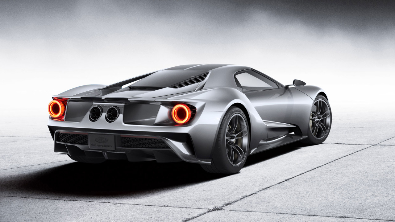 Ford Gt  Silver