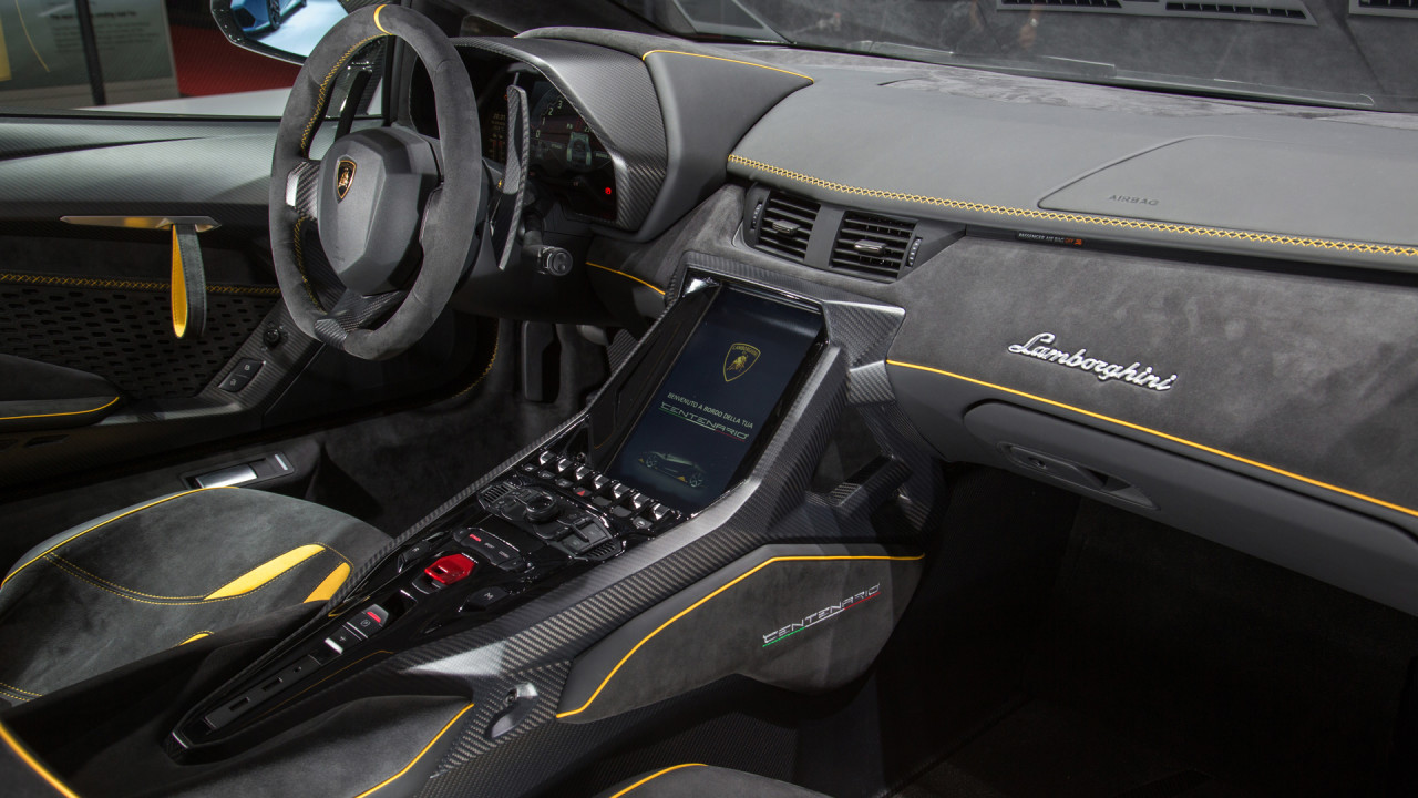 Newmotoring the lamborghini centenario isn 39 t a pointless for Interior lamborghini