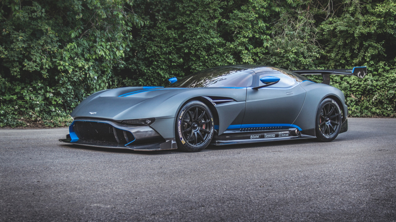 You Can Make Your Aston Martin Vulcan Road Legal on aston martin v12 zagato