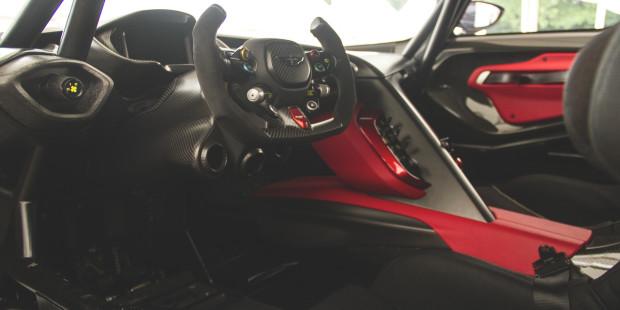 Newmotoring Aston Martin Vulcan Interior Newmotoring