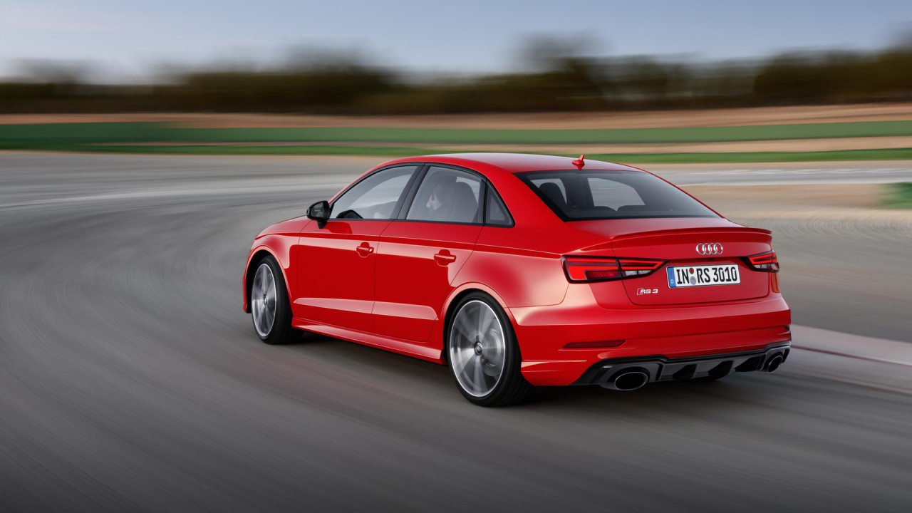 NewMotoring Audi's New RS3 Saloon Has 400bhp And Steers Itself In ...