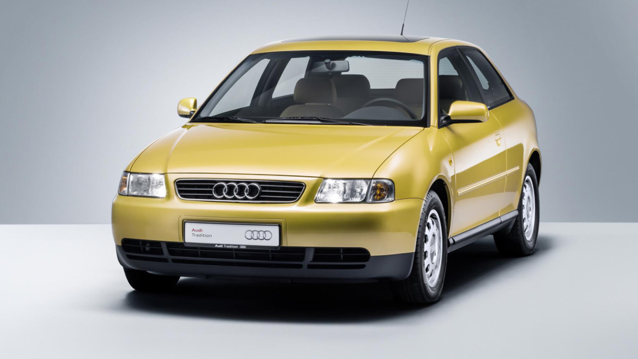 newmotoring the audi a3 has just turned 20 years old. Black Bedroom Furniture Sets. Home Design Ideas