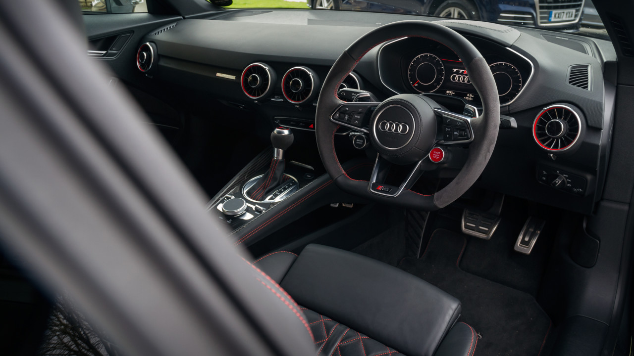 Audi Tt Rs Interior 2017 Auto Express