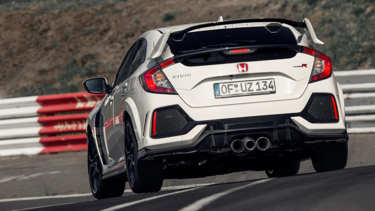 Honda-Civic-Type-R-2017-Nurburgring-Lap-Time