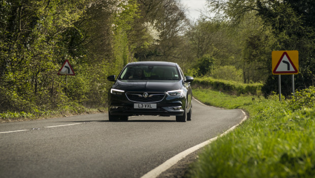 Vauxhall Insignia Grand Sport Driving