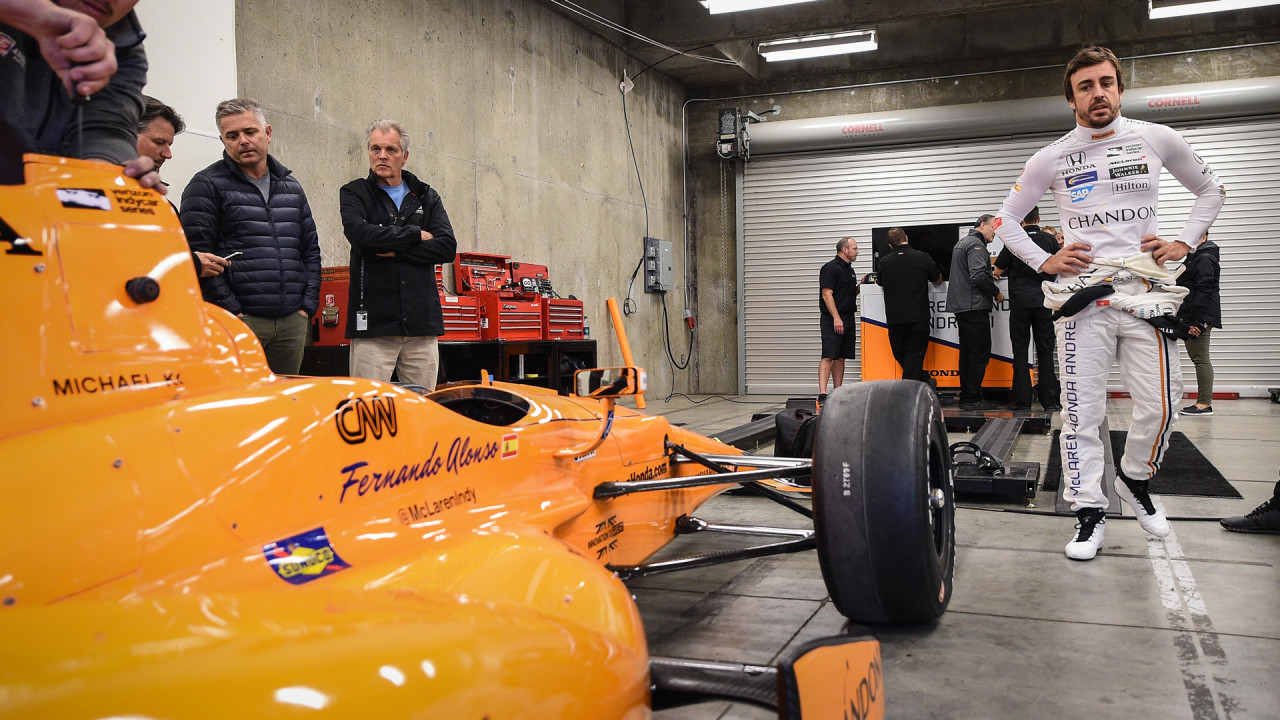 Fernando-Alonso-McLaren-IndyCar-Test