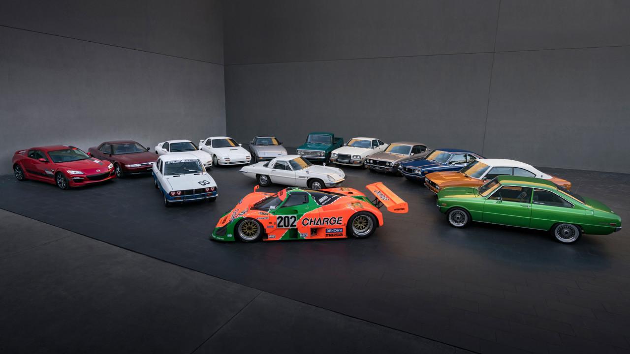 Mazda-Rotary-Engined-Cars