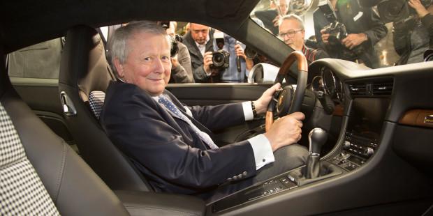 Newmotoring Porsche 1 000 000th 911 Dr Wolfgang Porsche