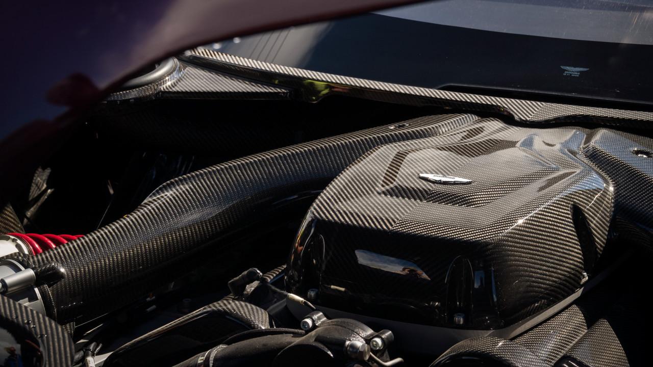 Aston Martin Vulcan Engine