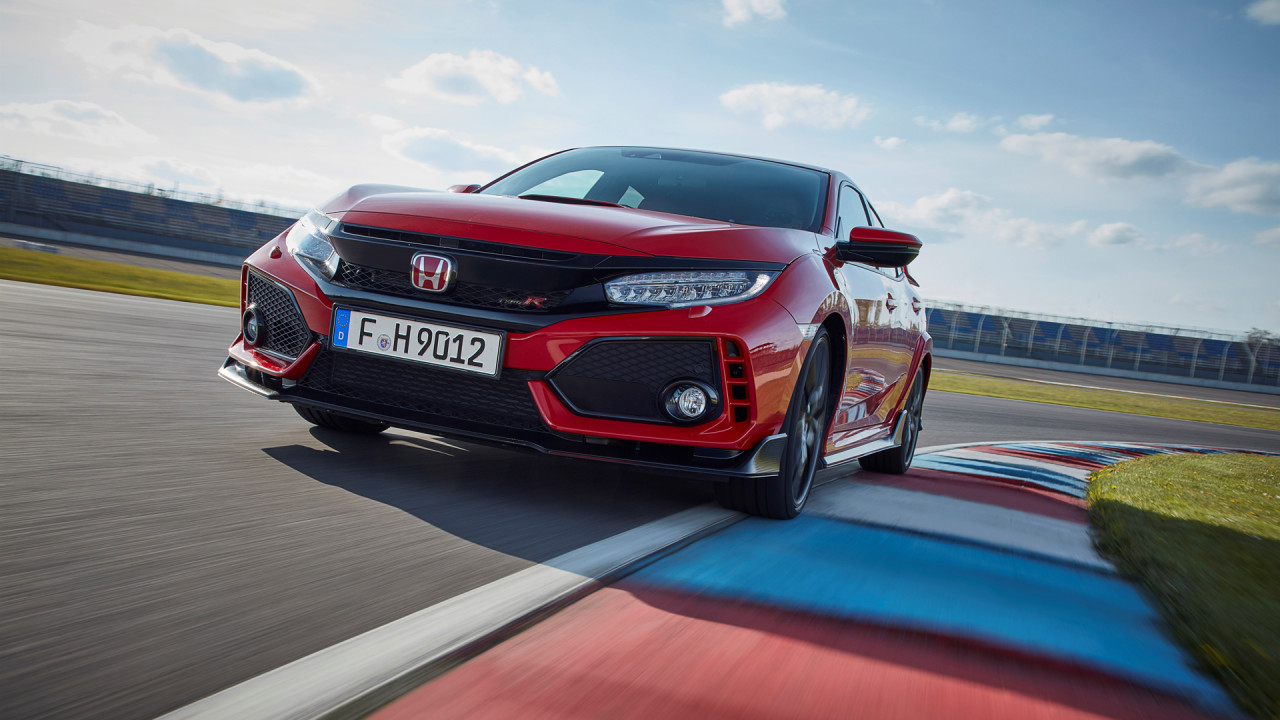 newmotoring the first fk8 civic type r is being auctioned. Black Bedroom Furniture Sets. Home Design Ideas
