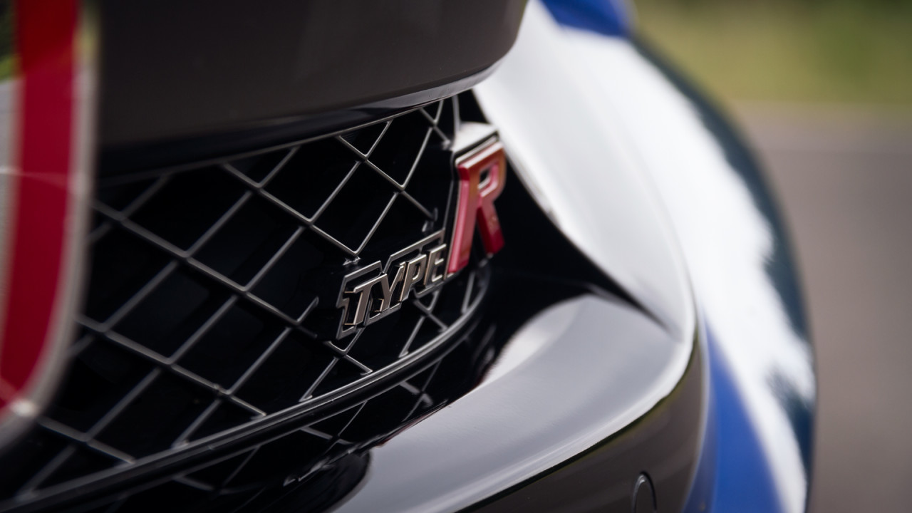 Honda Civic Type R 2017 Badge