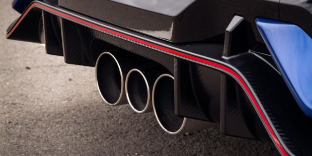 Honda Civic Type R 2017 Exhaust