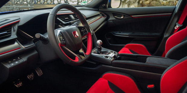 Honda Civic Type R 2017 Interior