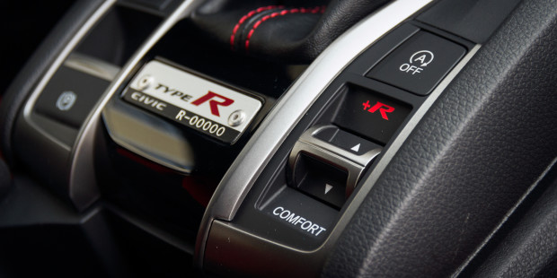 Honda Civic Type R 2017 Sport Comfort Plus R Driving Modes
