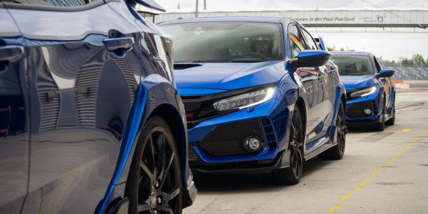 Honda Civic Type R 2017 Track