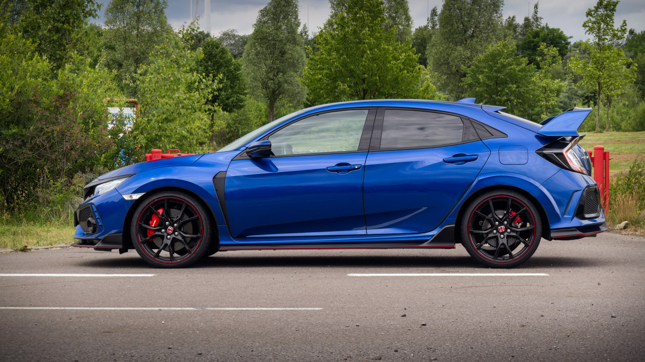 Honda Civic Type R 2017 Wing