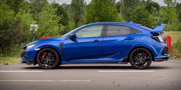 Honda Civic Type R 2017 Wing