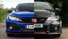 Honda Civic Type R FK8 FK2 Comparison Video