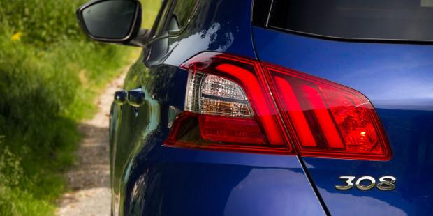 Peugeot 308 2017 Badge