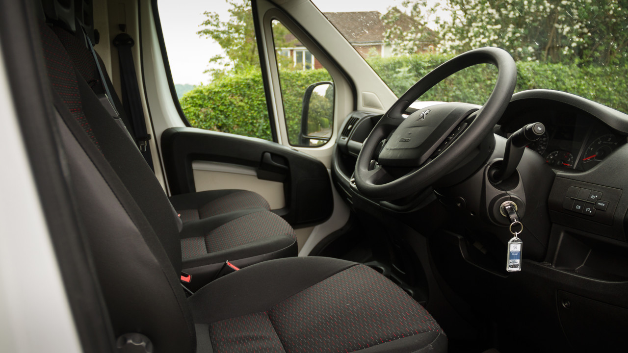 Peugeot Boxer Review Interior