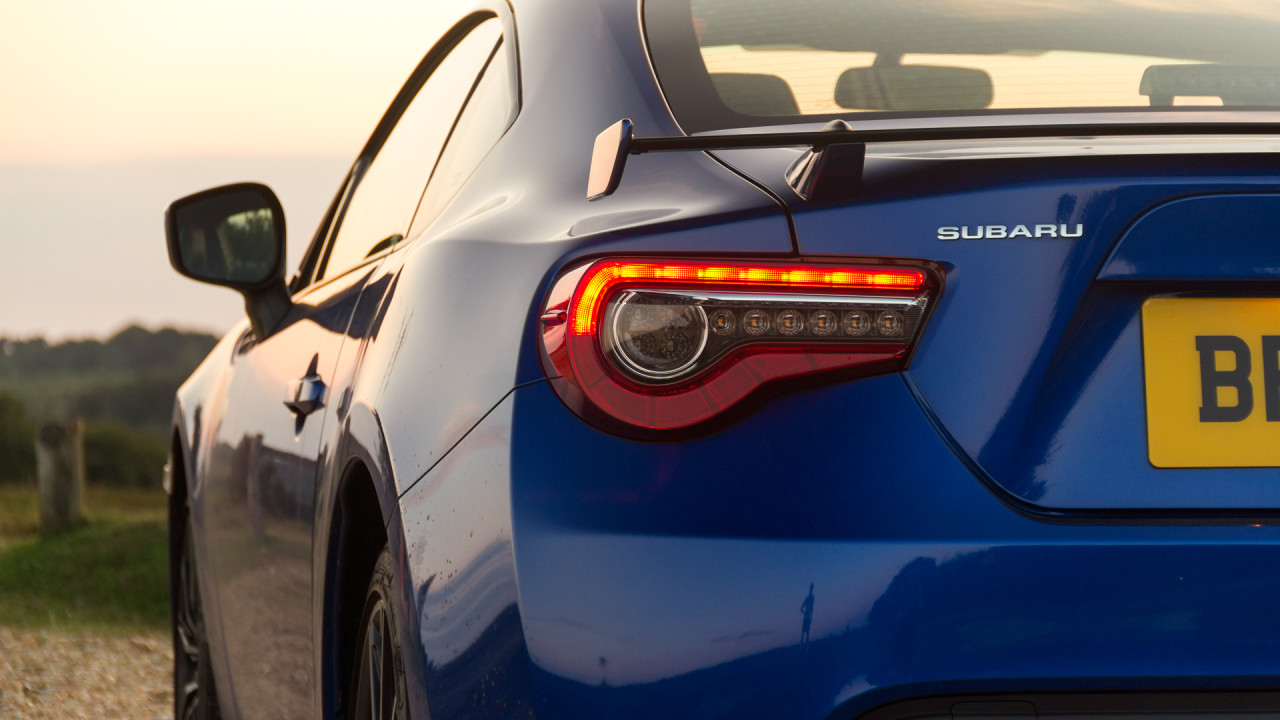 Subaru BRZ 2017 Manual Badge