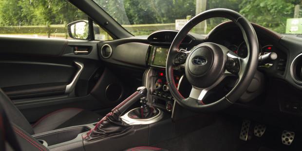 Subaru BRZ 2017 Manual Interior