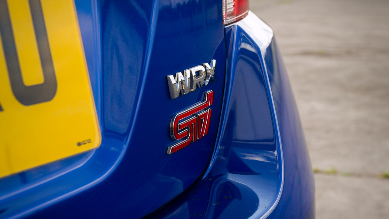 Subaru WRX STI 2017 Badge