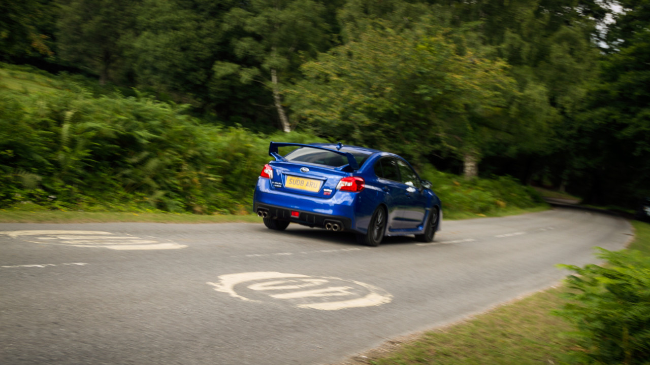Subaru WRX STI 2017 Driving