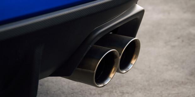 Subaru WRX STI 2017 Exhaust