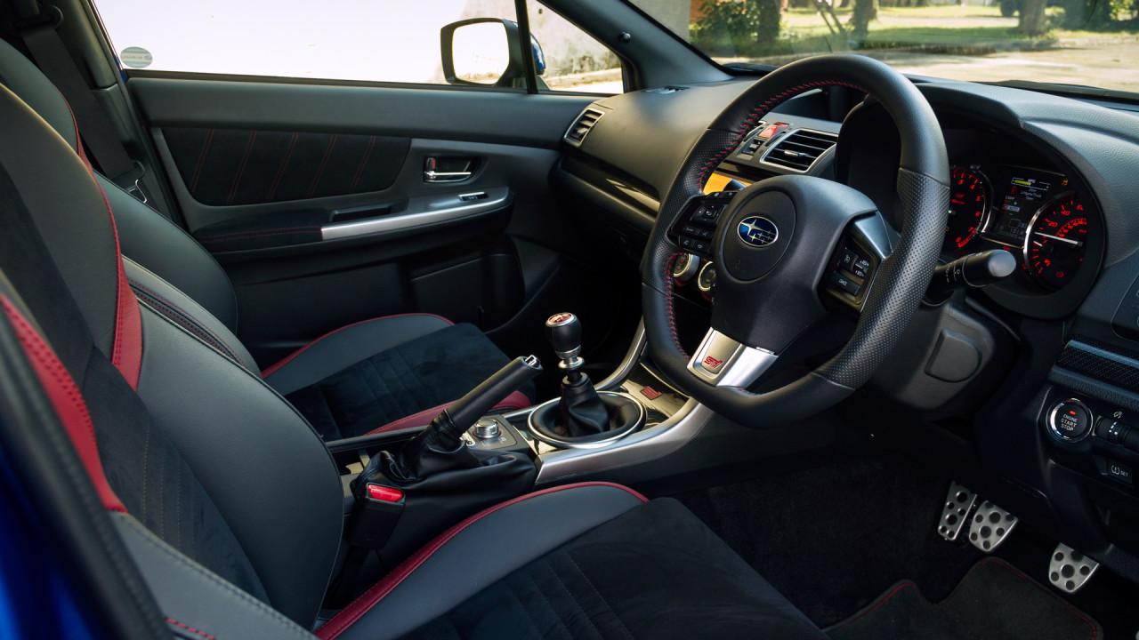 Subaru WRX STI 2017 Interior