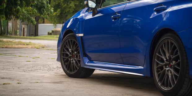 Subaru WRX STI 2017 Wheels Brakes Tyres