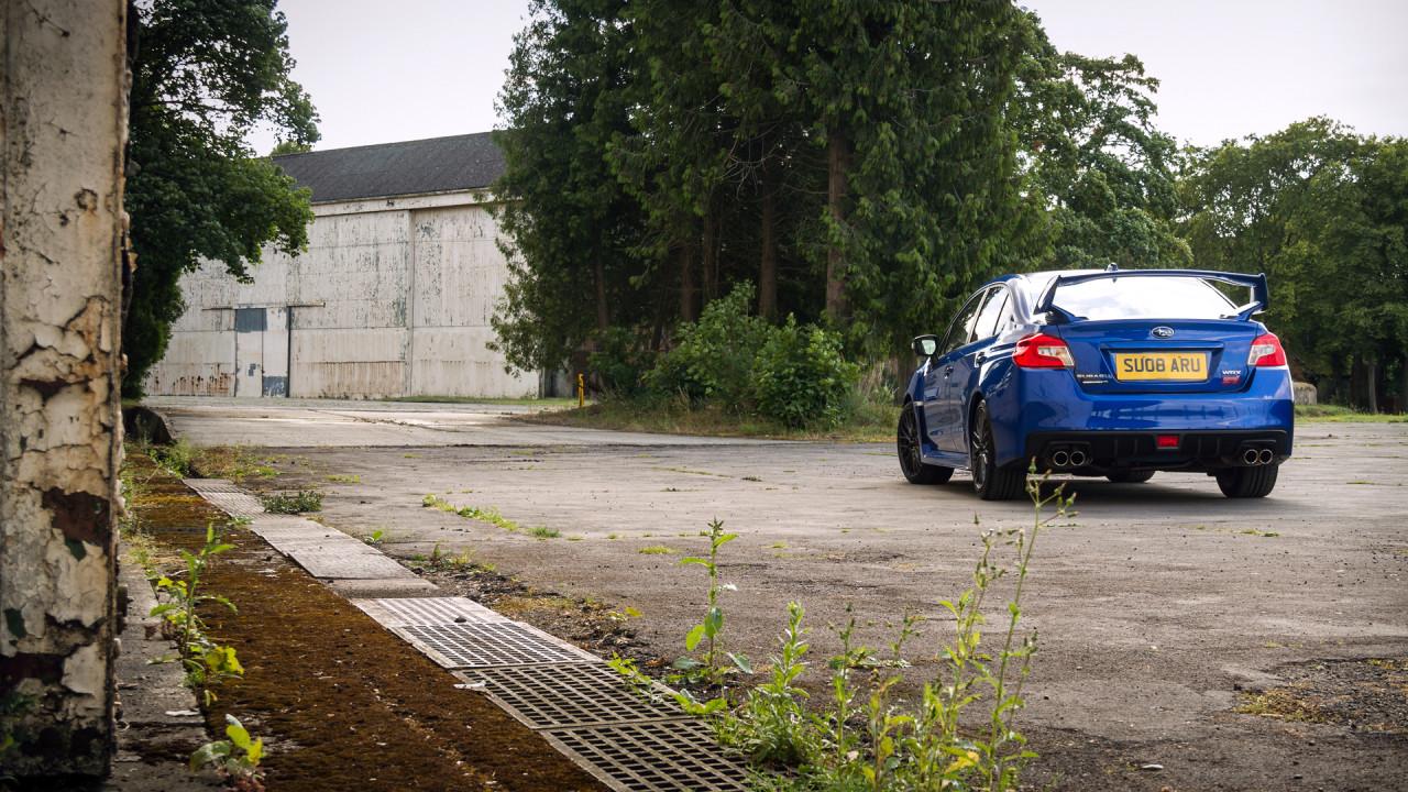 Subaru WRX STI 2017 Wing