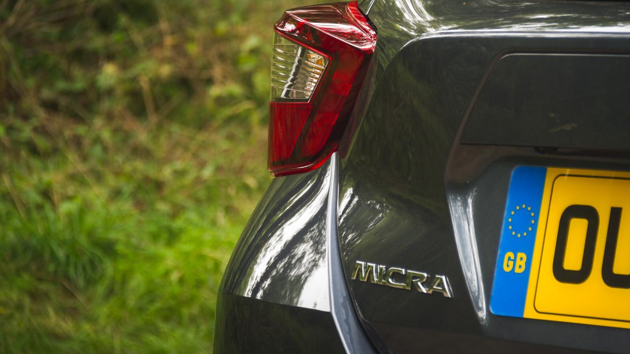 Nissan Micra 2017 Badge