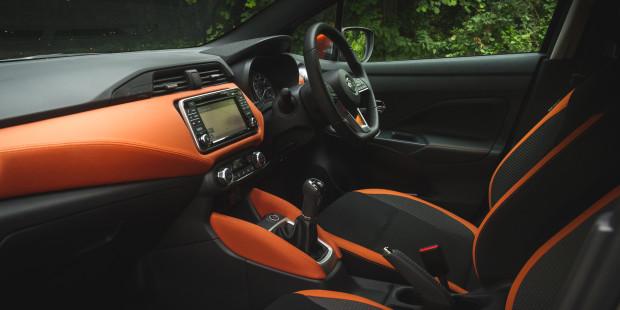 Nissan Micra 2017 Interior
